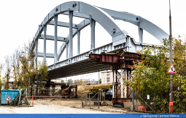 Реконструкция железнодорожных  путепроводов