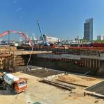 Поставка бетона для строительства участка Северо-Восточной хорды